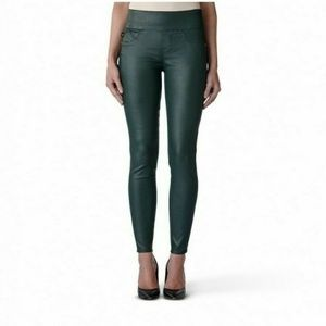 Rock & Republic Fever Pull-On Coated Leggings 10
